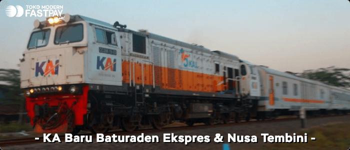 KAI Luncurkan Kereta Baru Baturaden Ekspres dan Nusa Tembini