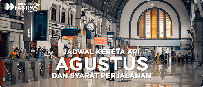 Jadwal Perjalanan Kereta Api Bulan Agustus dan Syarat Perjalanan