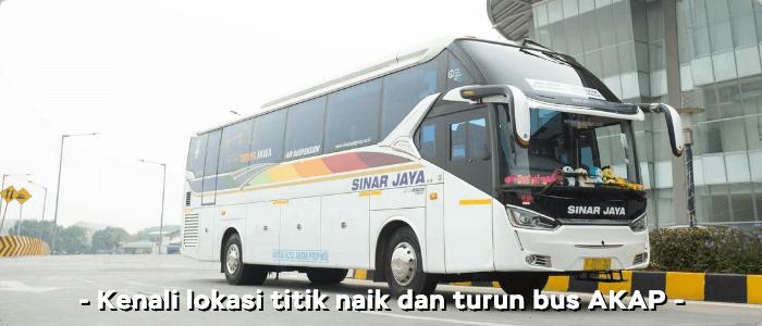 Daftar Tujuan Lokasi Bus AKAP Surabaya-Jakarta